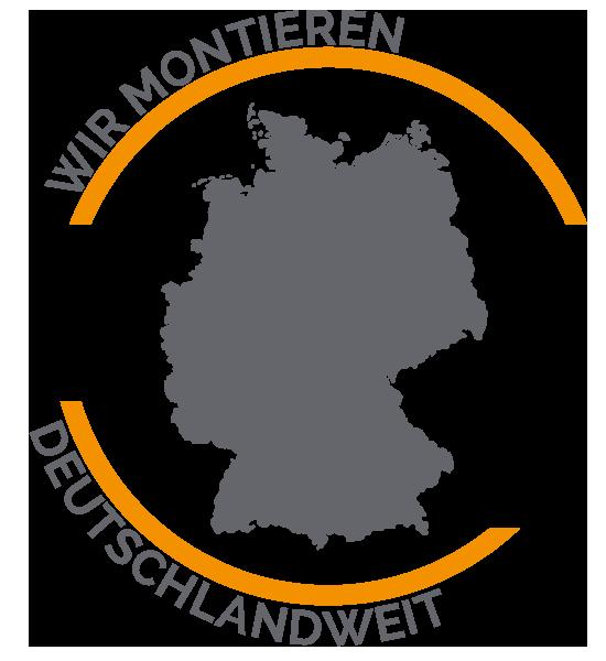 Wir montieren deutschlandweit